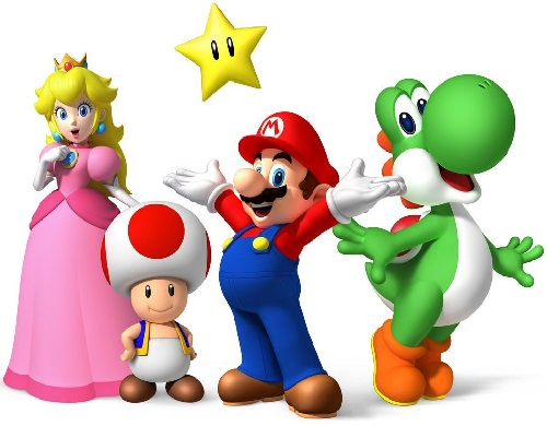 Personnages Univers Mario